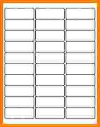 Avery Template 30 Labels Per Sheet by 8160 Avery Pacq Co