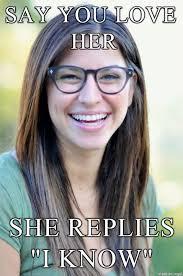 Fake Geek Girl Meme - list of synonyms and antonyms of the word nerd girl meme