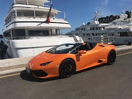 Lamborghini Huracan Spyder - lamborghini huracan spyder cabrio rental in france price and