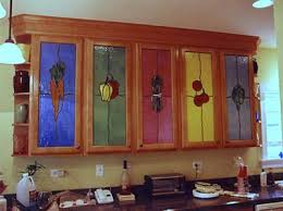 stained glass cupboard doors custom residential stained and beveled glass for your home