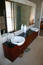 custom bathroom vanity ideas fabulous decorating ideas using silver widespread single faucet