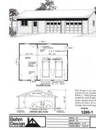 Small Garage Shop Plans Garage Shop Floor Plans Floor by 2 Car Attic Roof Garage With Shop Plans 864 5 By Behm Design