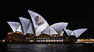 projection mapping sydney opera house house best art