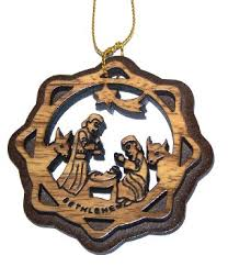 buy olive wood ornament with gift box in cheap price on m