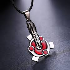 naruto necklace aliexpress images Mosu hot anime naruto necklace uchiha izuna with madara mangekyou jpg