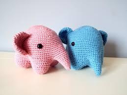 Elephant Home Decor Soft Elephant Amigurumi Toys Dolls Gift Ideas Home Decor Crochet