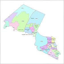 Zip Code Lookup Map by Passaic County New Jersey Zip Code Map Patterson