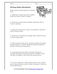 writing ratios worksheets worksheets