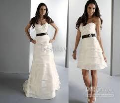 two wedding dress two detachable skirt wedding dress a line strapless layered