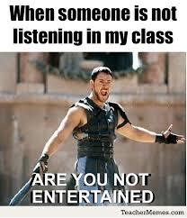 Teacher Meme Posters - behavior