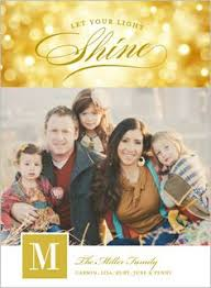 christmas photo card let your heart be light studios let