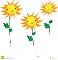 cute scarecrow wallpaper smile yellow sunflower cute background stock illustration image