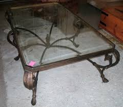 wrought iron coffee table with glass top exciting wrought iron coffee tables with glass top 32 about remodel