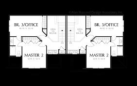 mascord house plan 4037 the whitman