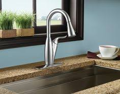 Moen Solidad Kitchen Faucet Moen Arbor With Motionsense Chrome One Handle High Arc Pulldown
