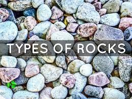 Types Of Rocks Rocks And Minerals By Fc Grade3
