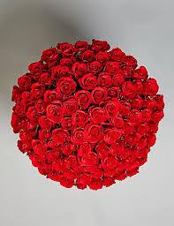 Roses Bouquet The Collection 100 Stem Flower Bouquet M U0026s