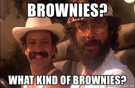 Cheech And Chong Meme - brownies what kind of brownies cheech and chong approve meme