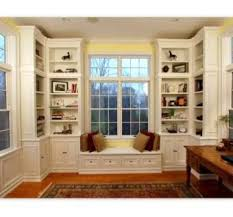 Shelves Bookcases Library Room I Love The Built In Shelves Bookcases And Window
