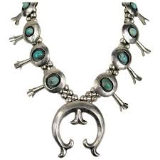 silver necklace sale images Native american navajo squash blossom sterling silver pawn jpg