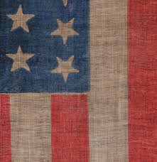 Star Flag Maker Jeff Bridgman Antique Flags And Painted Furniture 44 Stars In