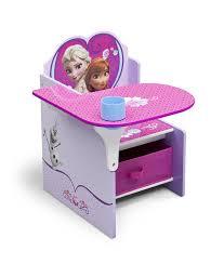 amazon com delta children chair desk with storage bin disney