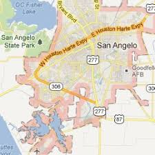 map of san angelo 37 best san angelo images on san angelo