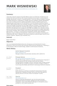 Solution Architect Resume Sample by Senior Research Scientist Resume Samples Visualcv Resume Samples