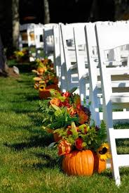 fall wedding decorations 57 fall wedding aisle decor ideas happywedd