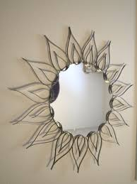 Home Decoration Accessories Wall Art Decorating Pretty Gold Sunburst Mirror For Wall Accessories Ideas