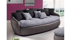 couch schwarz grau aruba 2 sofa bigsofa in grau schwarz inkl kissen