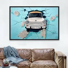 Bedroom Wall Decals Uk Wall Ideas Diy Rainbow Car Wall Art Car Wall Art Uk Old Car