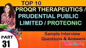 jobs proqr proteonic prudential life insurance uk proqr