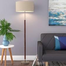 wood floor lamps you u0027ll love wayfair