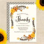 thanksgiving invitations free templates friendsgiving invitations