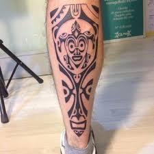 s tribal on leg tattoomagz