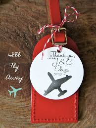 themed luggage tags 41 best luggage tag favors by travels images on