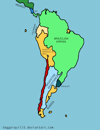 Map If South America Future Map Of South America By Daggerquill5 On Deviantart