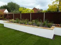 garden walls and retaining walls garden design cheltenham garden