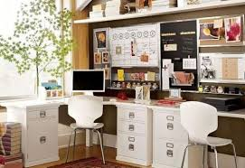 20 Space Saving Office Designs With Functional Work Zones For Two Designs For Home Office