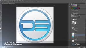 Tutorial Membuat Logo Di Photoshop Cs4 | membuat logo keren dengan photoshop tutorial membuat logo