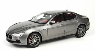 maserati ghibli black top marques collectibles maserati ghibli 1 18 silver top08a