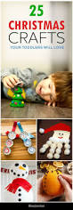 25 easy christmas crafts for toddlers amor navidad and en casa