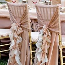 chair covers for wedding wedding chair sashes and armando s wedding