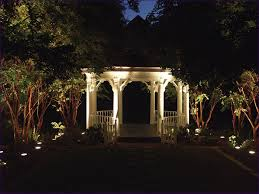 outdoor wonderful led yard lights deck string lights outside