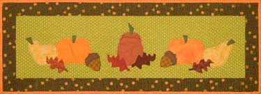 table runner patterns thanksgiving