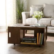 Wine Crate Coffee Table Diy by Best Wine Crate Coffee Table