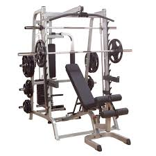 Decline Smith Machine Bench Press Fitnesszone Body Solid Series 7 Smith Machine Package System Gs348qp4