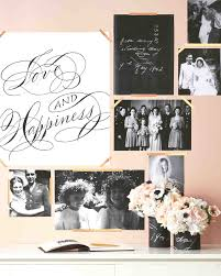 Wall Picture Ideas by 29 Creative Ways To Display Photos At Your Wedding Martha