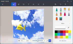 how to use microsoft paint 3d